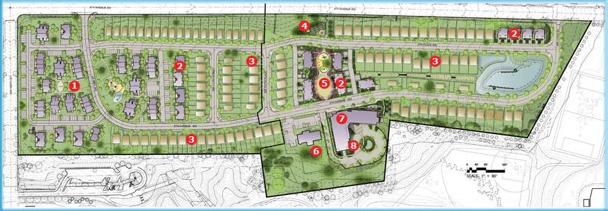 Seola Gardens Site Plan King County Housing Authority